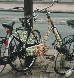 Theefiets aan de Amsterdamsestraatweg - vroeger